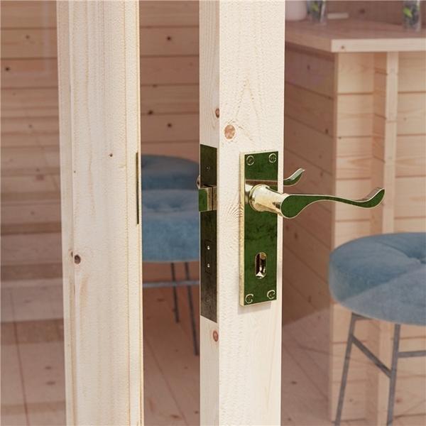 BillyOh Dorset Log Cabin Door Handle and Fittings