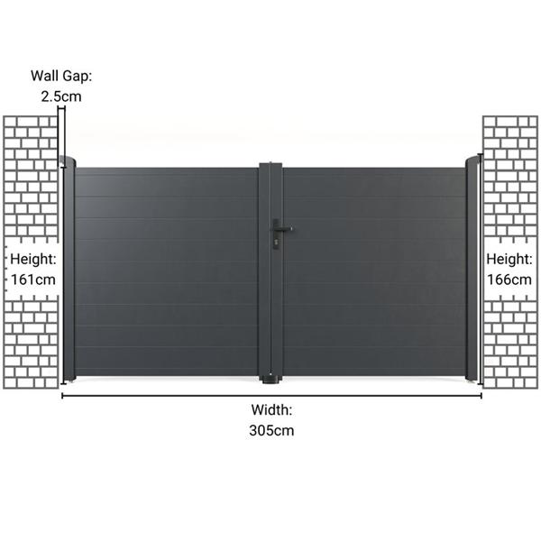 300x158cm