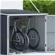 BillyOh Newbury 6x7 Metal Bike Store Grey
