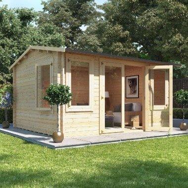 Billyoh dorset log cabin summer houses garden for Garden log cabins uk