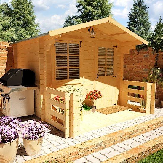Nook Log Cabin