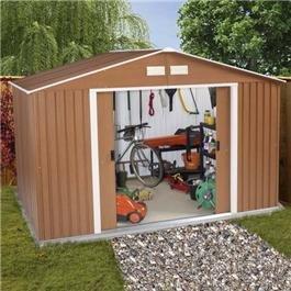Cheap metal sheds garden buildings direct for Cheap metal sheds