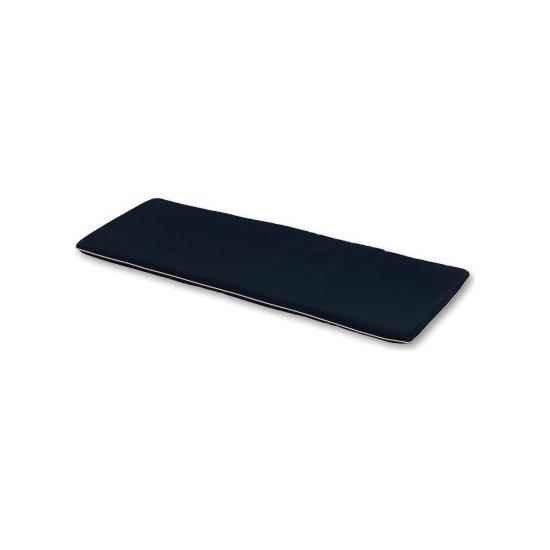 3 Seater Bench Cushion - Black
