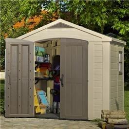 plastic outdoor storage sheds - Garden Sheds 8 X 3
