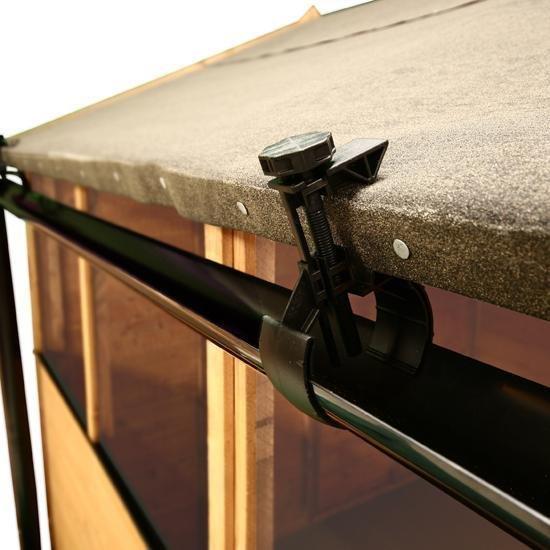 Quality Shed Guttering Hall S Rainsaver Shed Gutter Kit